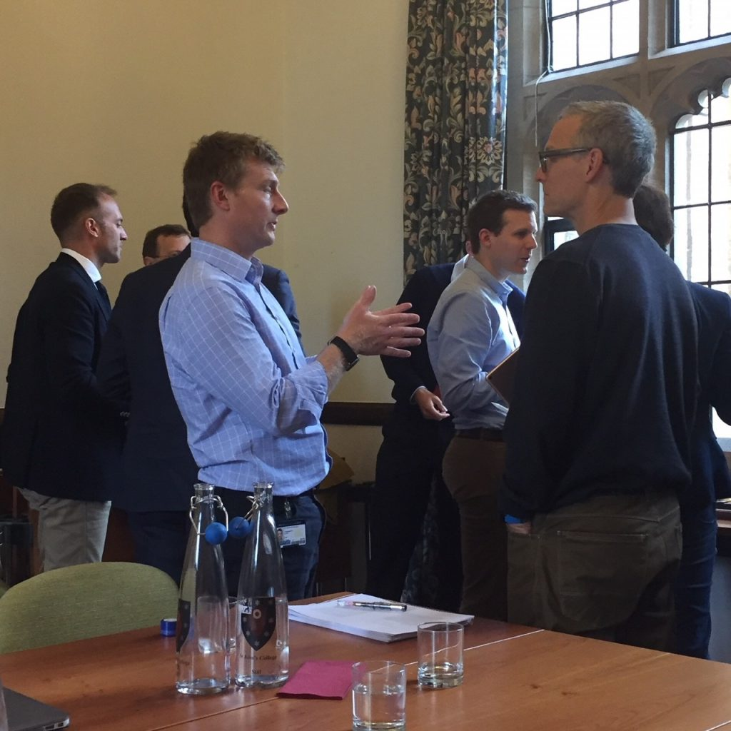 Workshop at Oxford's University