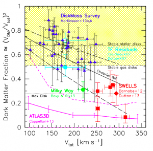 Global Mass Distribution in Disk Galaxies