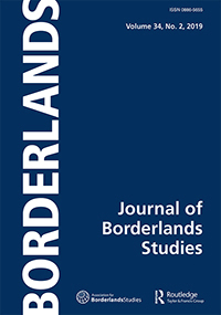 Journal Borderline Studies cover