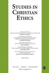 studies in christian ethics