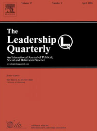 The Leadership Quarterly cover