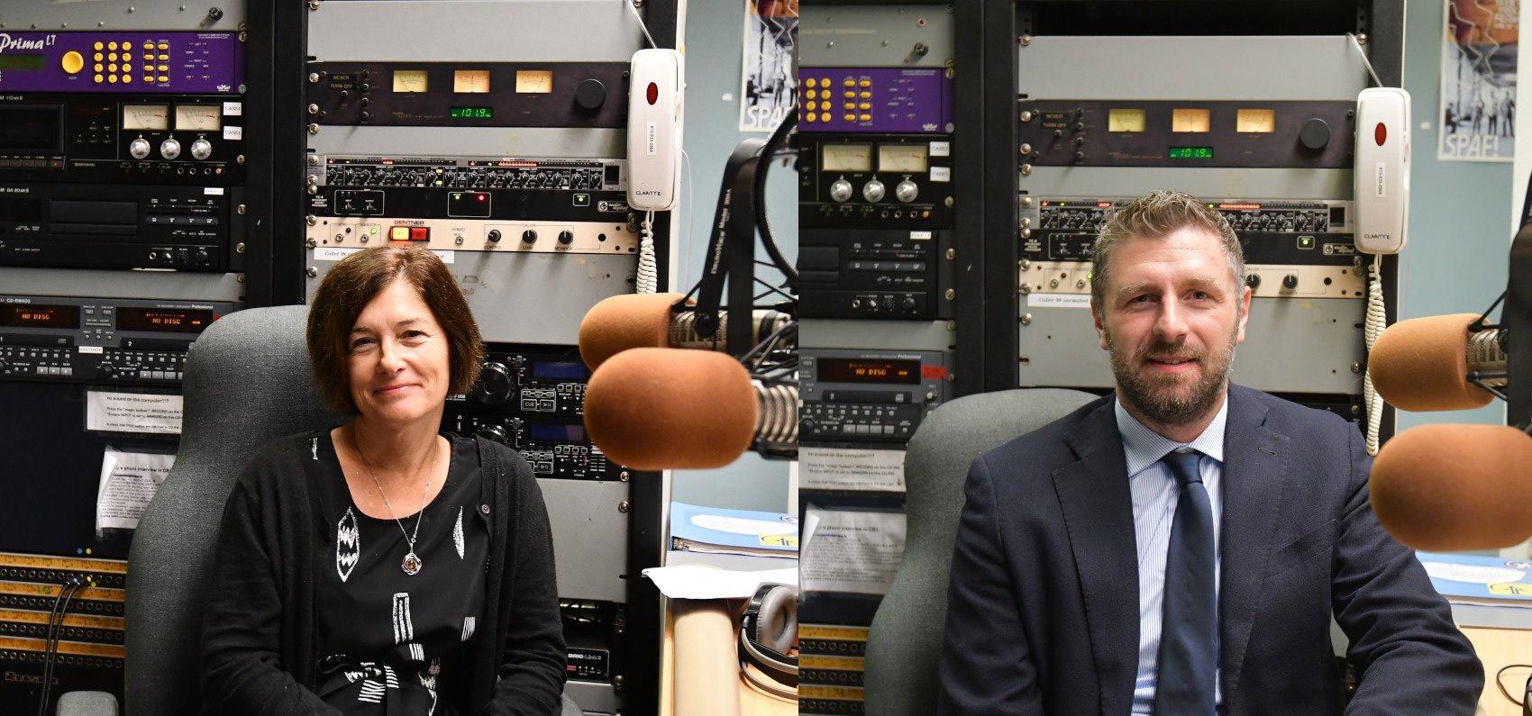 Margaret Moore and Dr. Gianluigi Bisleri podcast