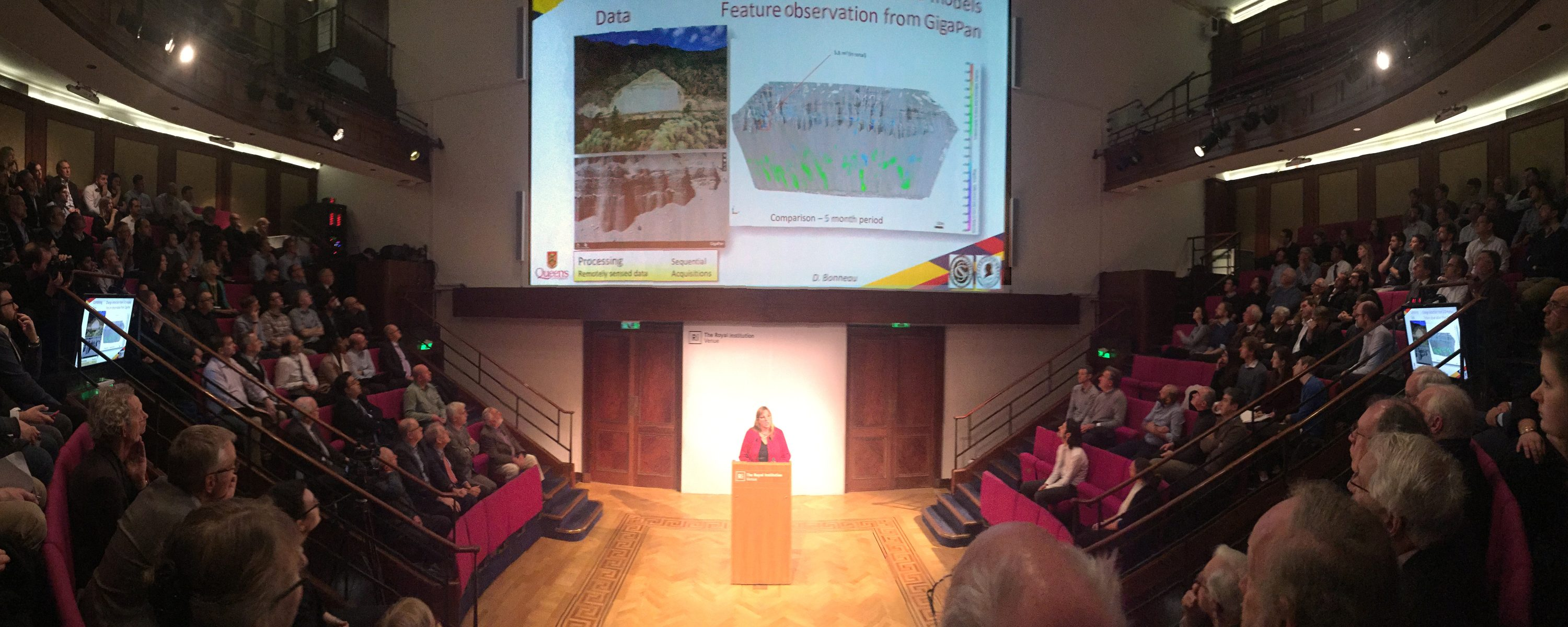 Dr. Jean Hutchinson presents Glossop Medal Lecture